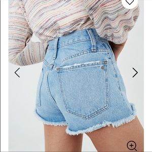 NEW Madewell relaxed denim shorts